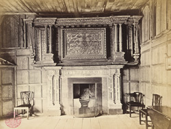 The Fireplace And Room In The Gateway Tower